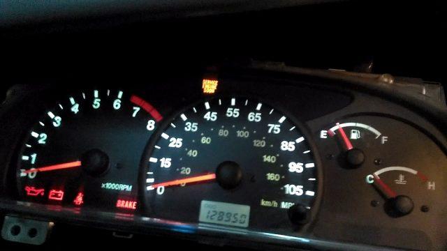 Замена лампочек в приборной панели Suzuki Grand Vitara, Chevrolet Tracker