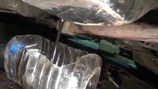 Замена масла в двигателе Daewoo Espero