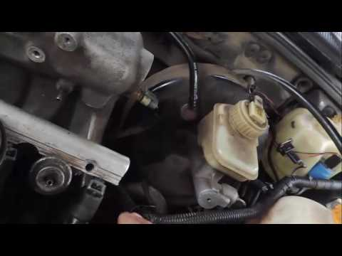 Замена регулятора давления топлива Daewoo Espero