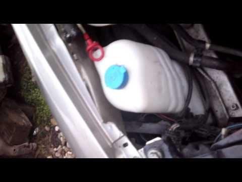 Замена габаритных ламп Fiat Stilo