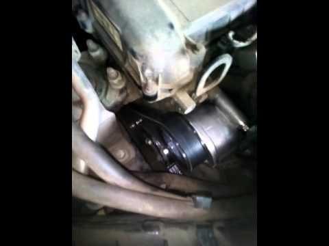 Замена ремня генератора Ford C-MAX