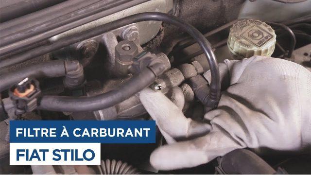 Замена топливного фильтра Fiat Stilo