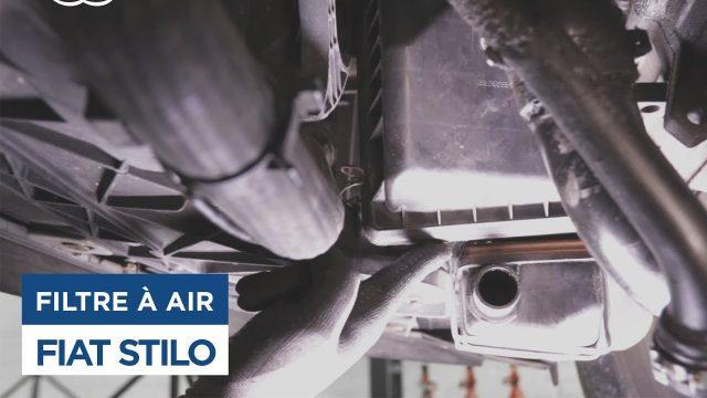 Замена воздушного фильтра Fiat Stilo