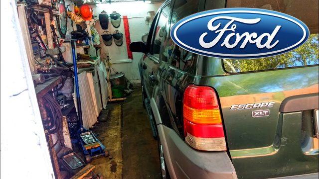 Замена масла в редукторе Ford Escape
