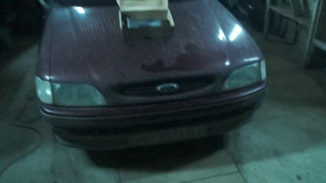 Замена радиатора печки Ford Escort