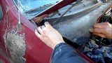 Замена салонного фильтр Ford Escape