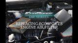 Замена воздушного фильтра Ford EcoSport
