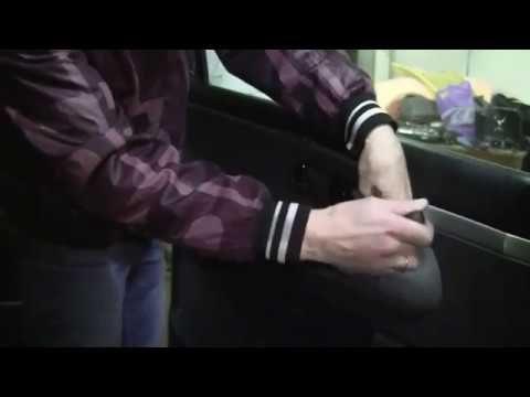Снятие обшивки двери Ford Galaxy