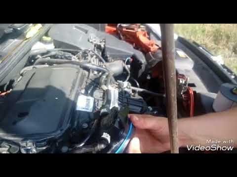 Замена масла, топливного фильтра и воздушного фильтра Ford Kuga
