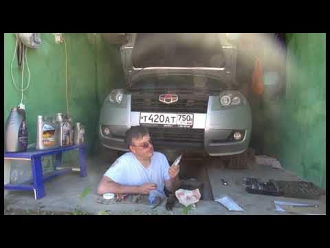 Замена масла в двигателе Geely Emgrand X7
