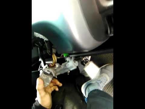 Honda Fit замена замка зажигания