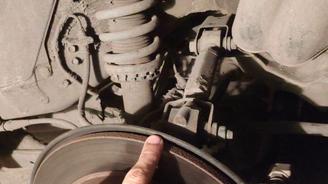 Замена тормозных колодок Honda Odyssey