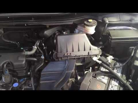 Замена воздушного фильтра двигателя Honda HR-V