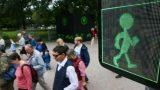 В Москве появился первый «танцующий» светофор