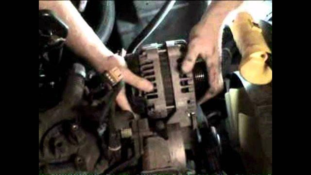 Замена генератора Hummer H2