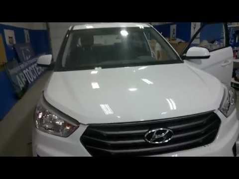 Замена лобового стекла Hyundai Creta