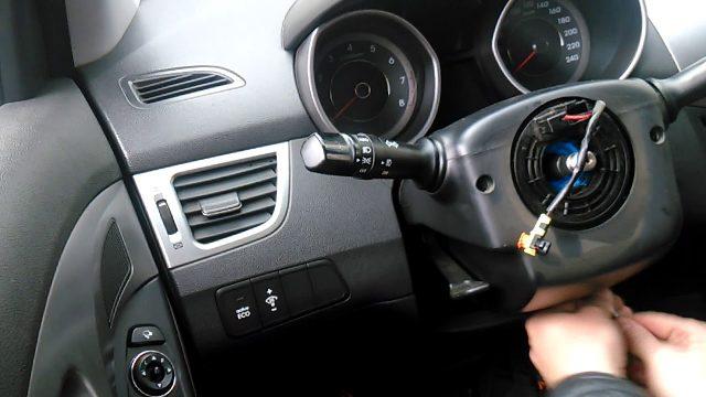 Замена рулевого шлейфа Hyundai Avante