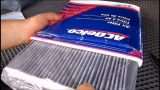 Замена салонного фильтра Hummer H2