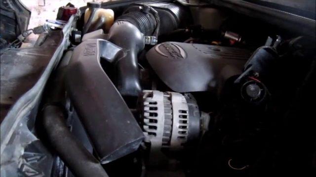 Замена воздушного фильтра Hummer H2