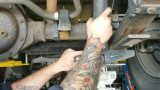 Замена заднего амортизатора Hummer H3