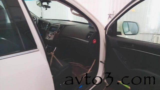 Как снять обшивку двери Hyundai ix55
