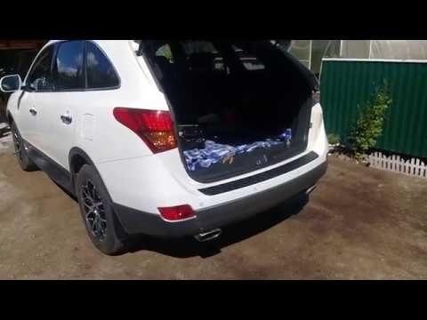 Снятие заднего бампера Hyundai ix55