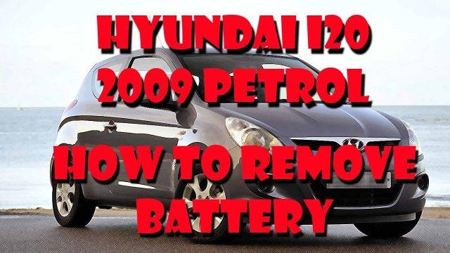 Замена аккумулятора Hyundai i20