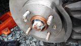 Замена переднего тормозного диска Hyundai i20