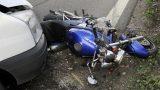 В России увеличилось количество аварий с участием мотоциклистов
