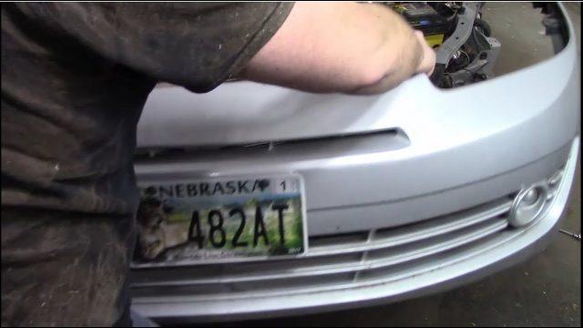 Снятие бампера Hyundai Tiburon
