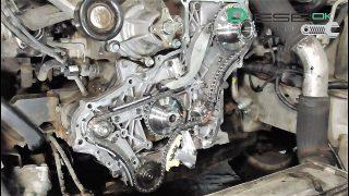 Замена цепи ГРМ Hyundai Starex