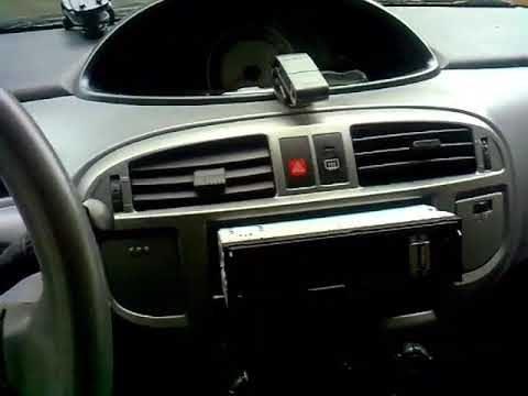 Замена лампочек приборной панели Hyundai Matrix
