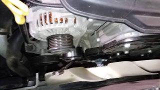 Замена приводного ремня Hyundai Starex