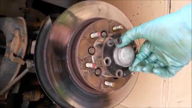 Замена тормозного диска Hyundai Terracan