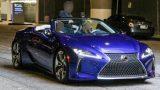 Серийный кабриолет Lexus LC рассекретили перед премьерой