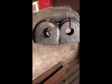 Замена втулок заднего стабилизатора Kia Carens