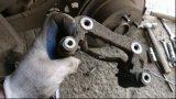 Замена задних тормозных колодок Kia Carens