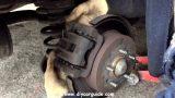 Замена задних тормозных колодок Hyundai Trajet