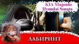 Замена салонного фильтра Kia Magentis