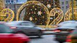 Москвичи стали реже пользоваться автомобилями в новогодние праздники
