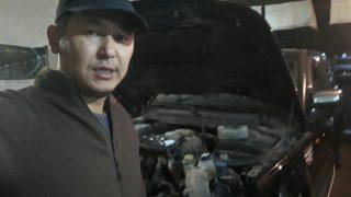 Замена радиатора Range Rover Sport