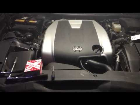 Замена свечей зажигания Lexus GS 350
