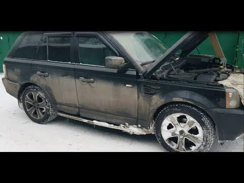 Замена свечей зажигания Range Rover Sport