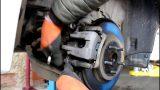 Замена задних тормозных колодок Lexus CT 200h