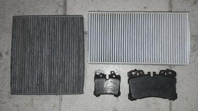 Замена салонного фильтра Lexus LS 460