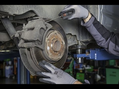Замена передних тормозных колодок Lifan X50