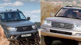 Какой внедорожник надежнее: новый УАЗ «Патриот» или 20-летний Toyota Land Cruiser