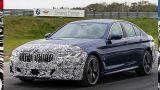 BMW показала новые тизеры обновленной «пятерки» и «шестерки» GT