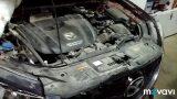 Замена масла в двигателе Mazda CX-5