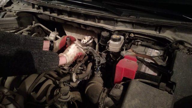 Замена свечей зажигания Mazda CX-7